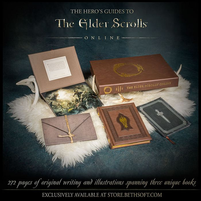 Elder Scrolls Online Limited Edition Heros Guide