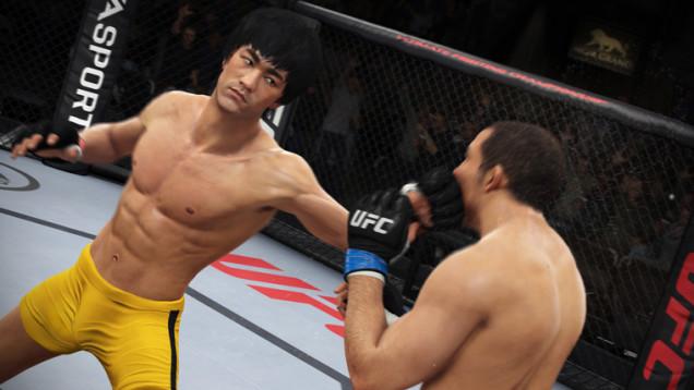 EA Sports UFC Bruce Lee In Game Images Appear Studio Responds VG247