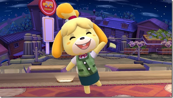 Super Smash Bros Features Isabelle From Animal Crossing New Leaf As Assist Trophy VG247