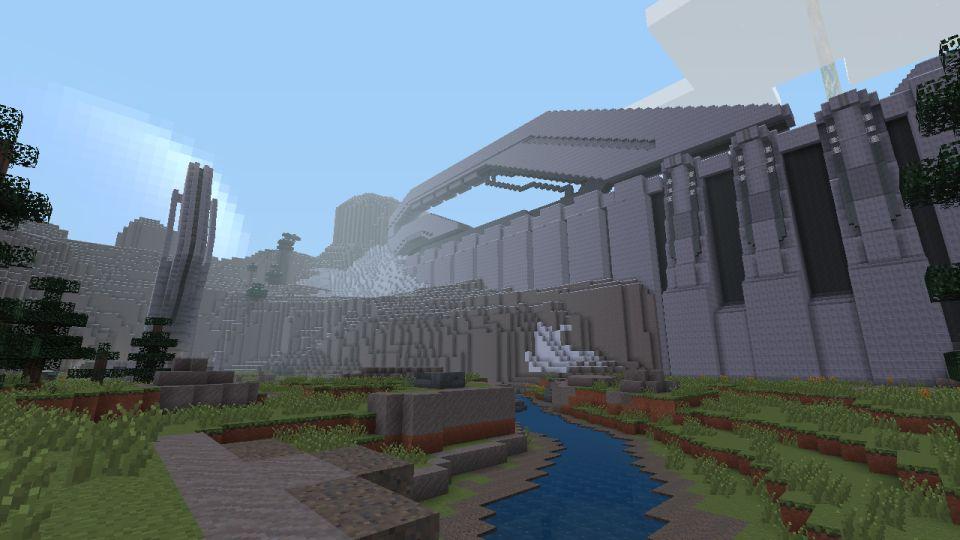 Halo Mash Up Pack Images For Minecraft 360 Show Sandtrap