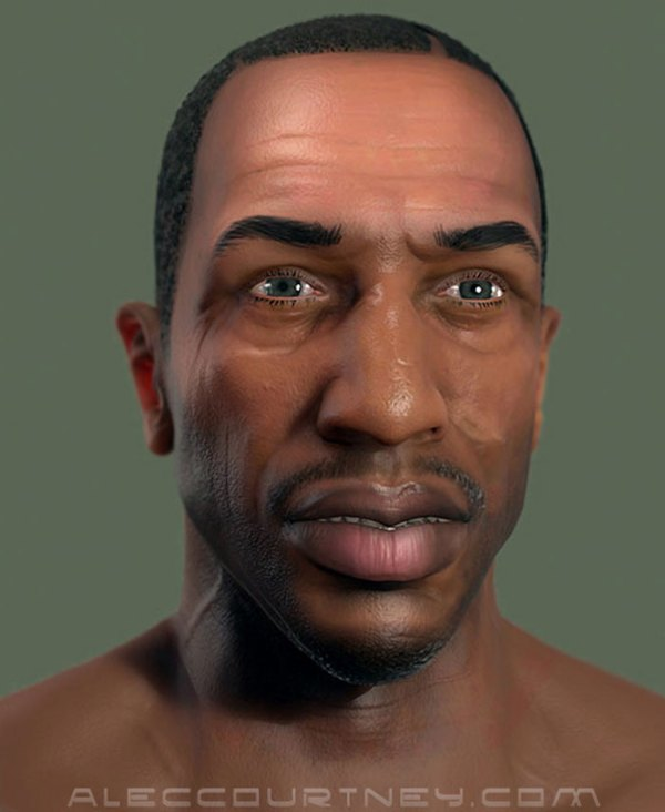 GTA 5 PC mods incoming: what CJ from San Andreas looks ...
