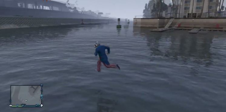 This GTA 5 Glitch Lets You Walk On Water VG247