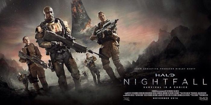 Everyone Looks Determined In Halo Nightfalls Key Art VG247