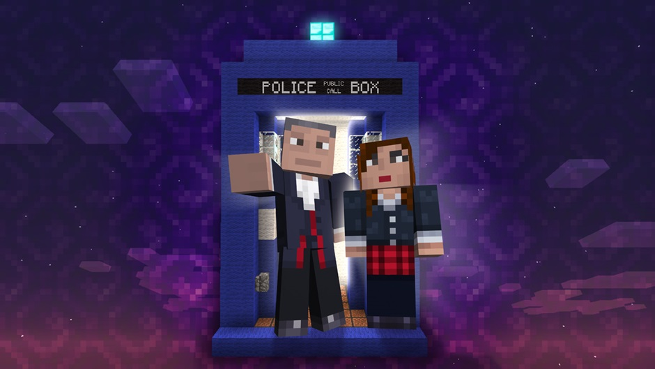 Doctor Who Skin Packs For Minecraft Xbox 360 Start Dripping Next Month VG247