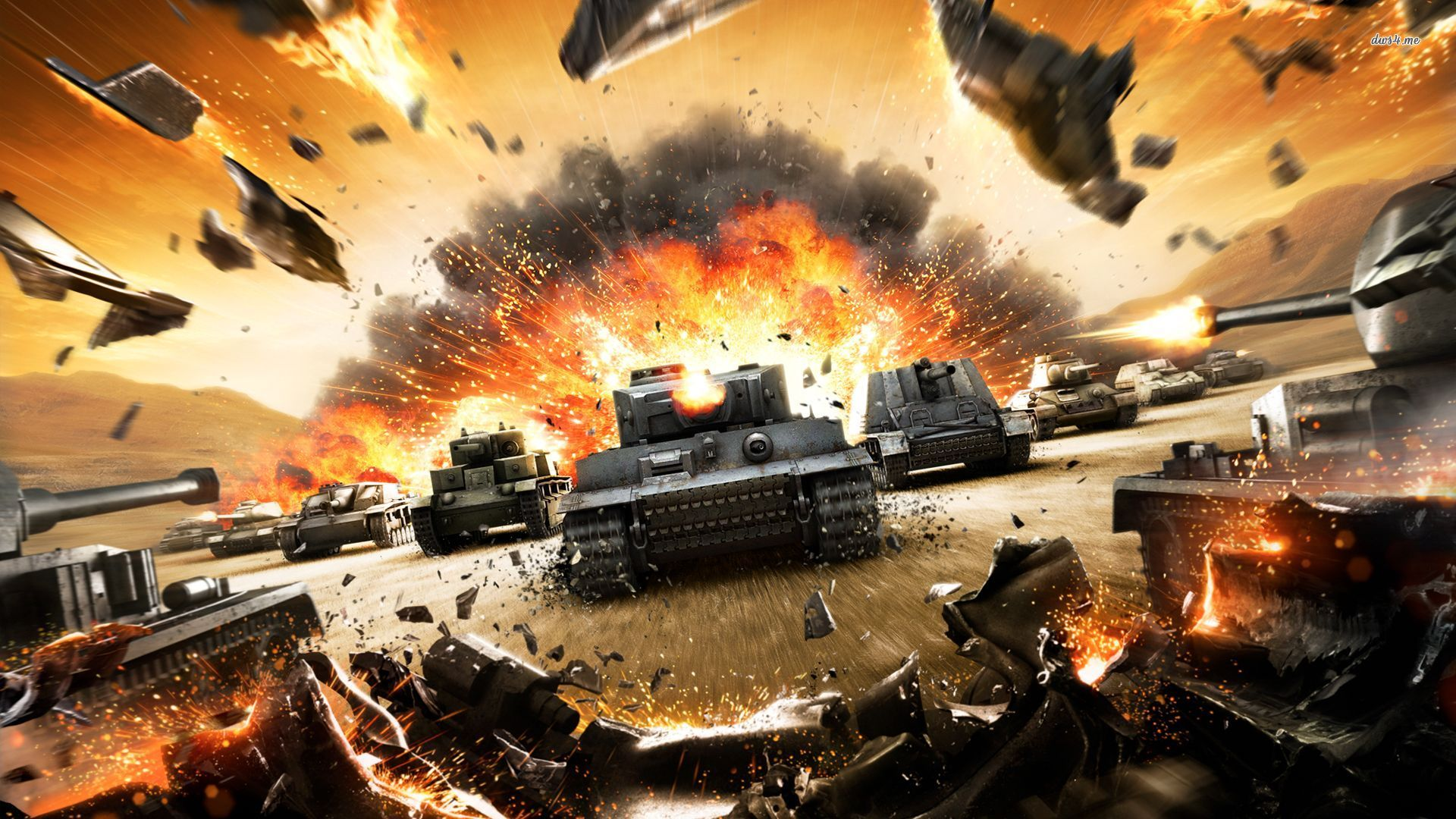 This World Of Tanks Trailer Explodes Everything To Celebrate 100 Million Players VG247