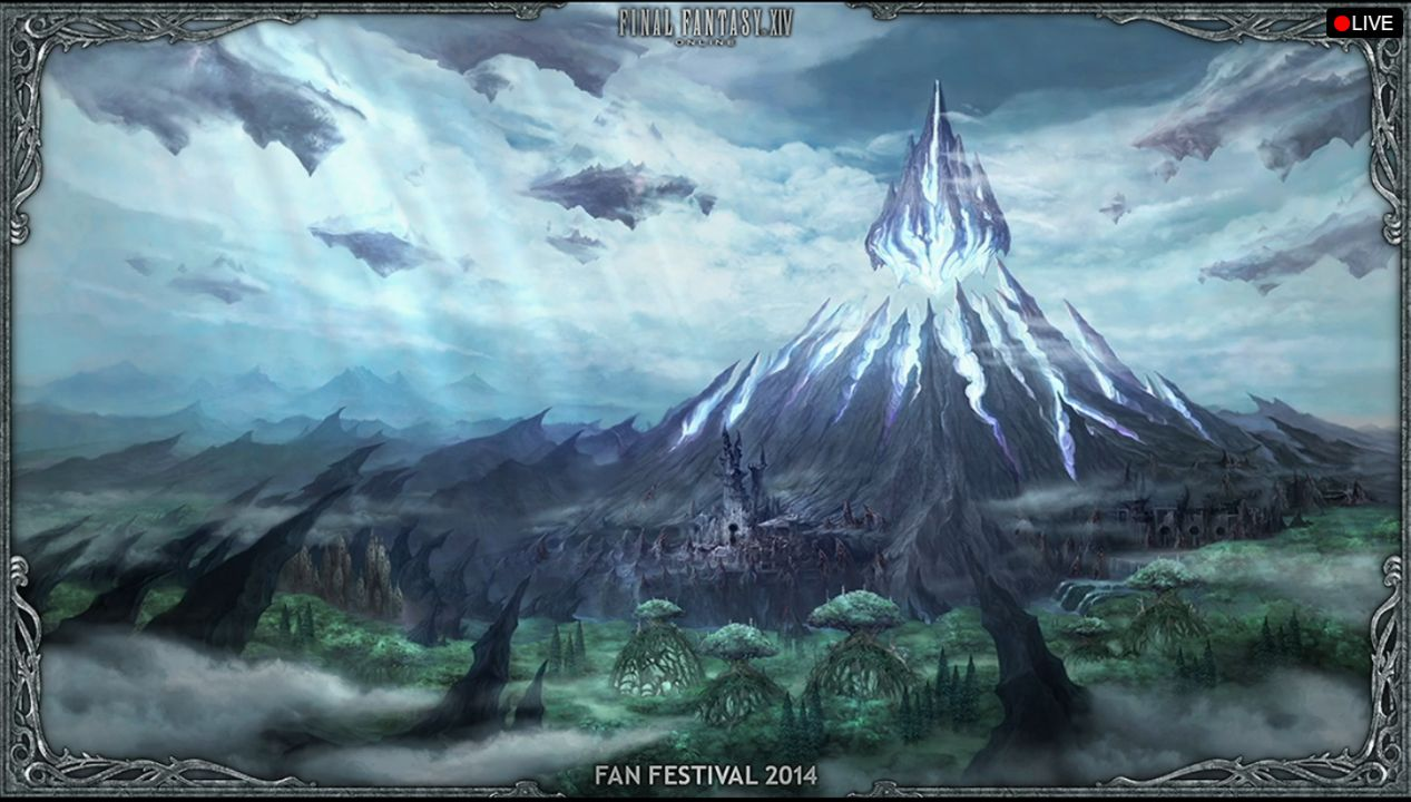 Final Fantasy 14s Heavensward Expansion Contains Flying Mounts Dark Knight Job VG247