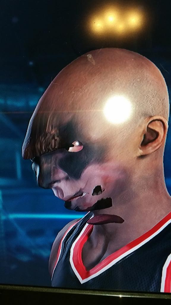 When NBA 2K15s Facial Scanning Tech Goes Wrong VG247