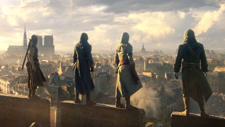 Assassins Creed Unity Guide Sequence 10 Memory 1 A