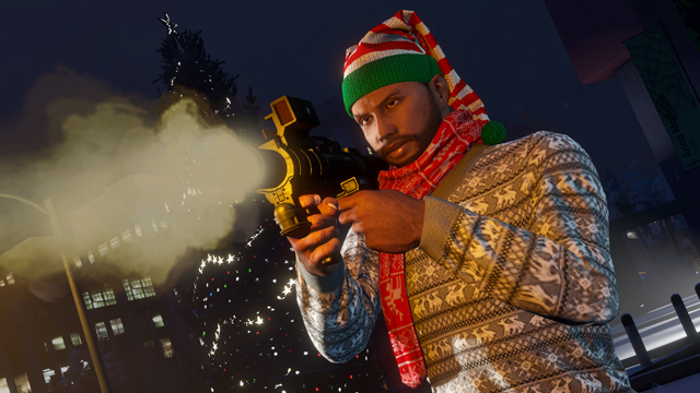 GTA Online Festive Surprise Is Live Homing Launcher New