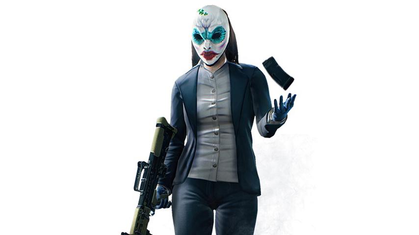 Payday 2 Diamond Heist Update Adds New Female Character
