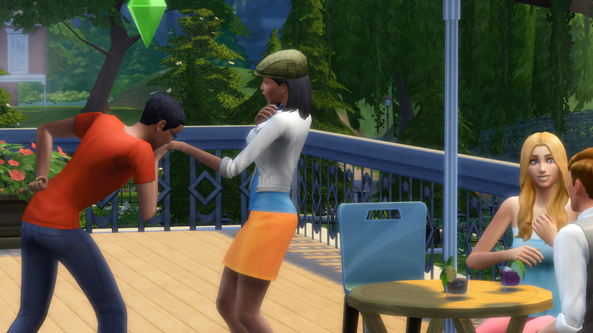 The Sims 4 Goes Outdoors In First DLC According To Data
