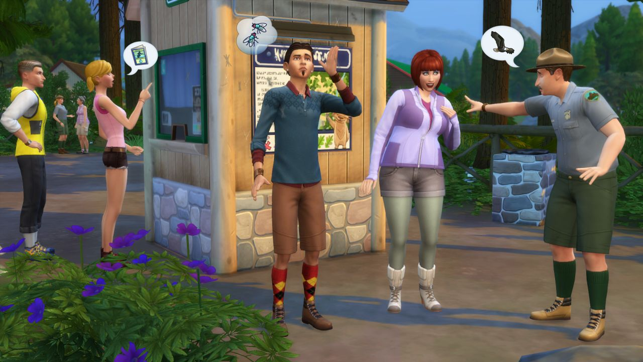 The Sims 4 Is Coming To Mac Next Month Outdoor Retreat