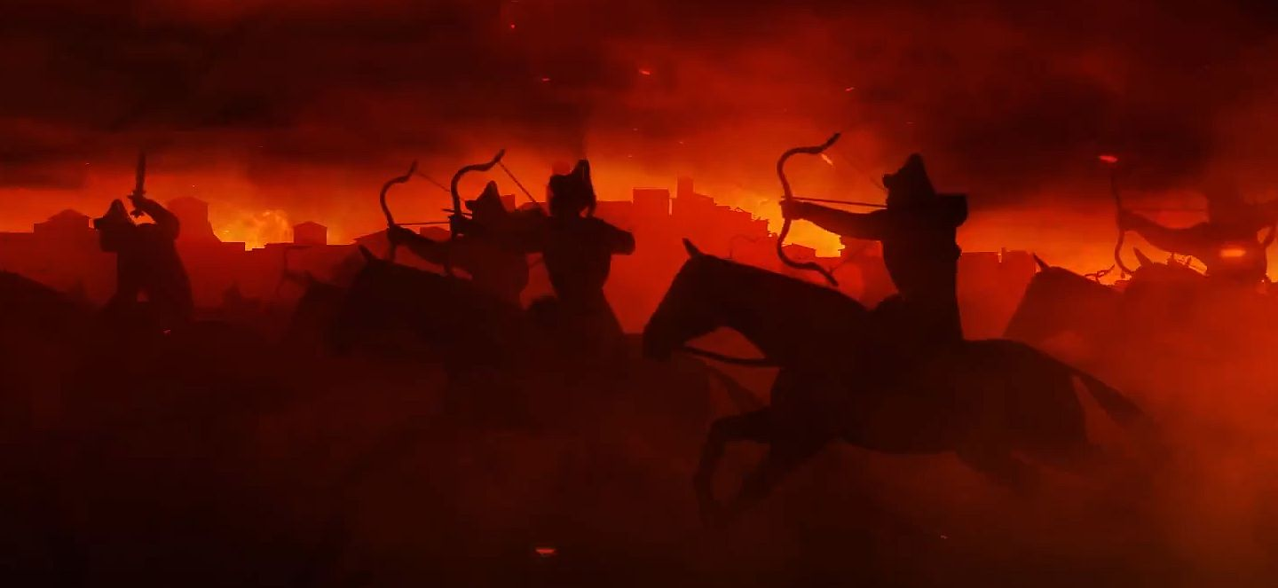 Total War Attila Black Horse Cinematic And Horde Spotlight Videos Released VG247