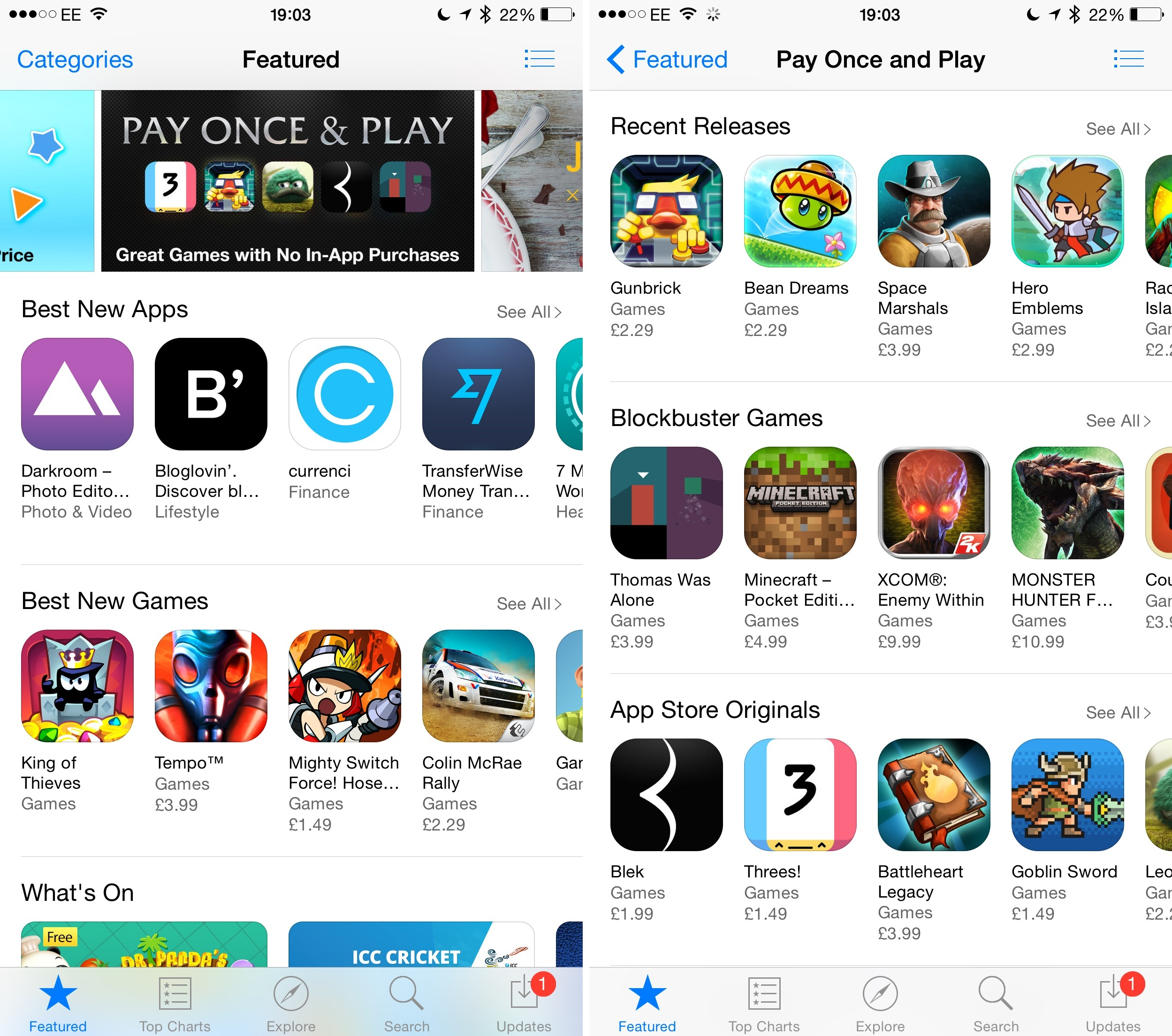Apple Adds New Pay Once And Play Category To The App
