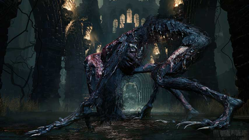 Bloodborne Guide Part 06 Blood Starved Beast Boss Battle
