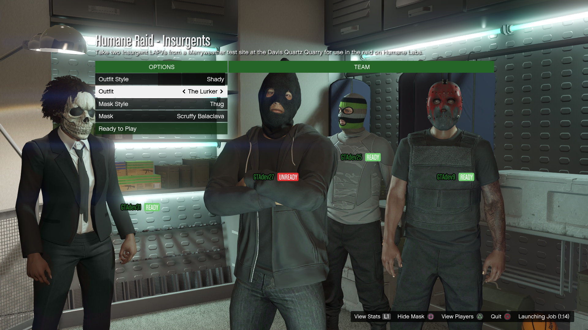 Massive GTA Online Heists Leak Reveals Outfits Contacts Vehicles Masks And Prices VG247