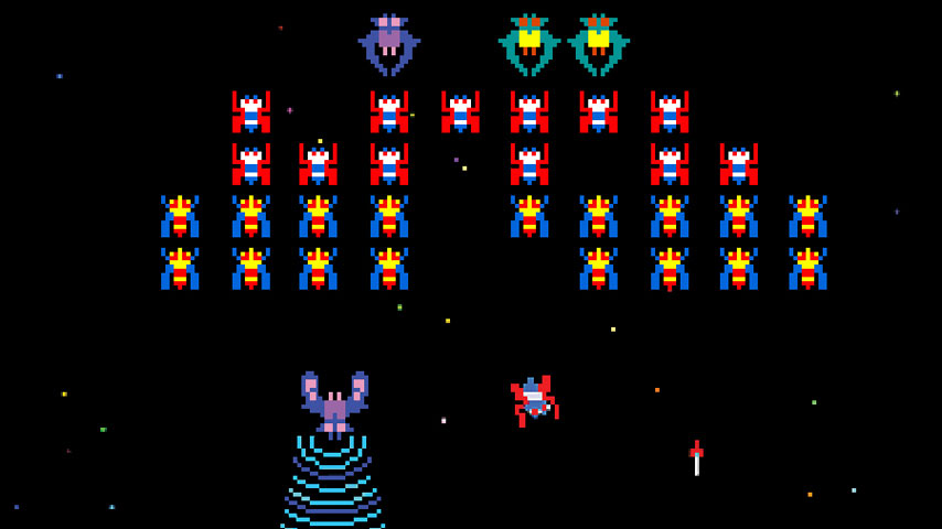 XBLA Version Of Galaga Now Backwards Compatible With Xbox
