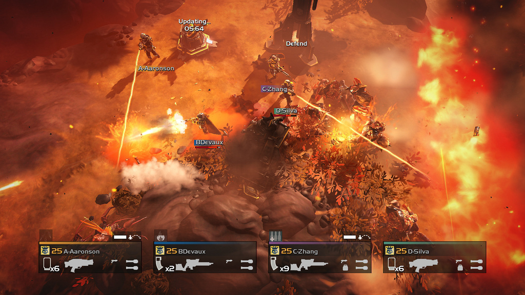 Helldivers Turning Up The Heat Update Out Now VG247
