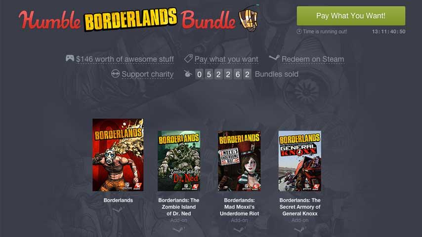 Humble Borderlands Bundle Is Pretty Damn Thrifty VG247