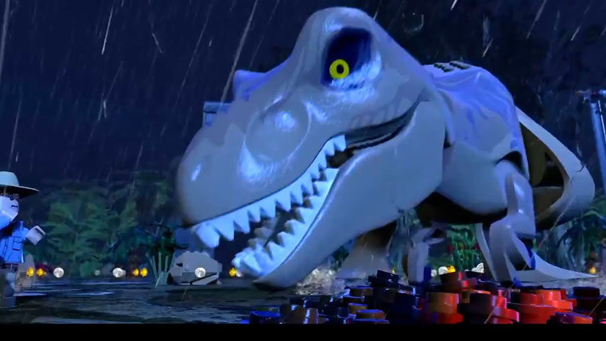 LEGO Jurassic World Wii U Trailer Includes A Herd Of