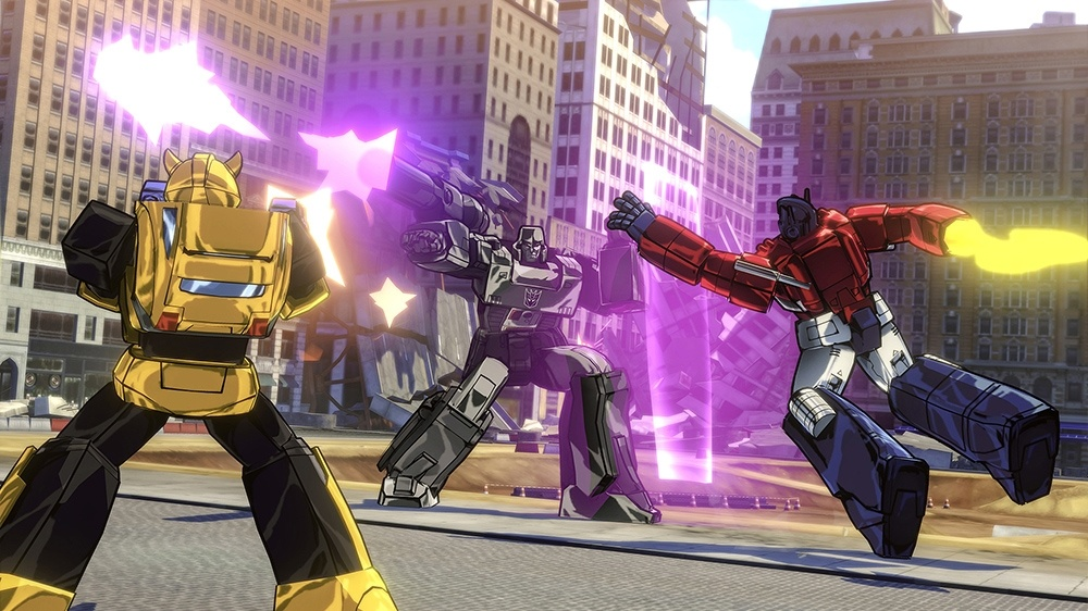 New Cel Shaded Transformers Game Leaked Ahead Of E3 2015 VG247