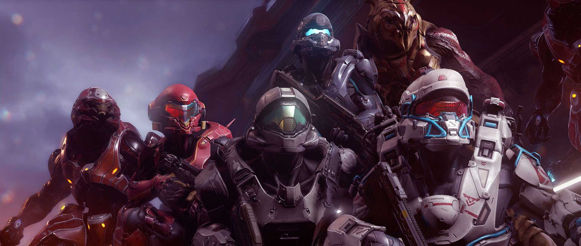 Halo 5 Campaign Played In A Fireteam Of Four Revives