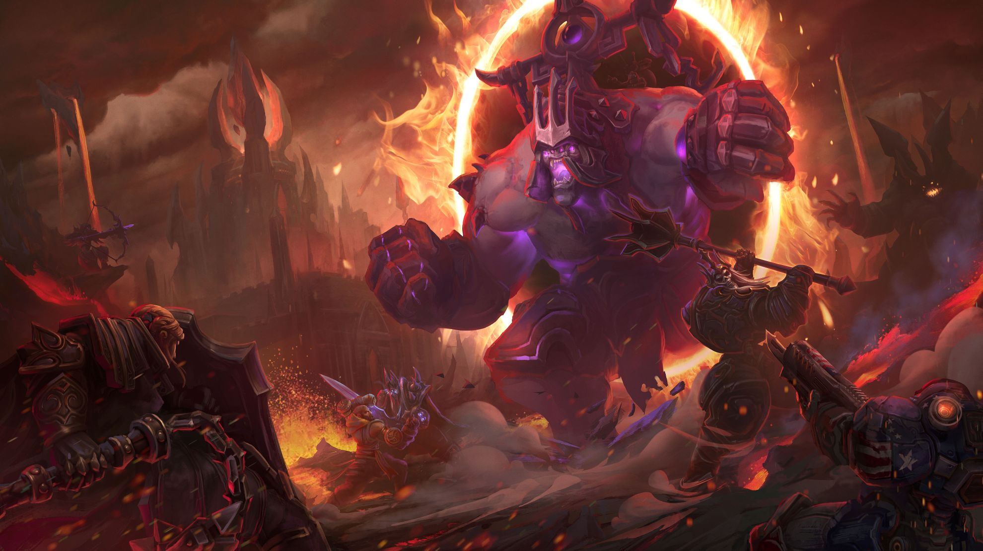 Rexxar And His Bear Misha Are Coming To Heroes Of The Storm With The Infernal Shrines