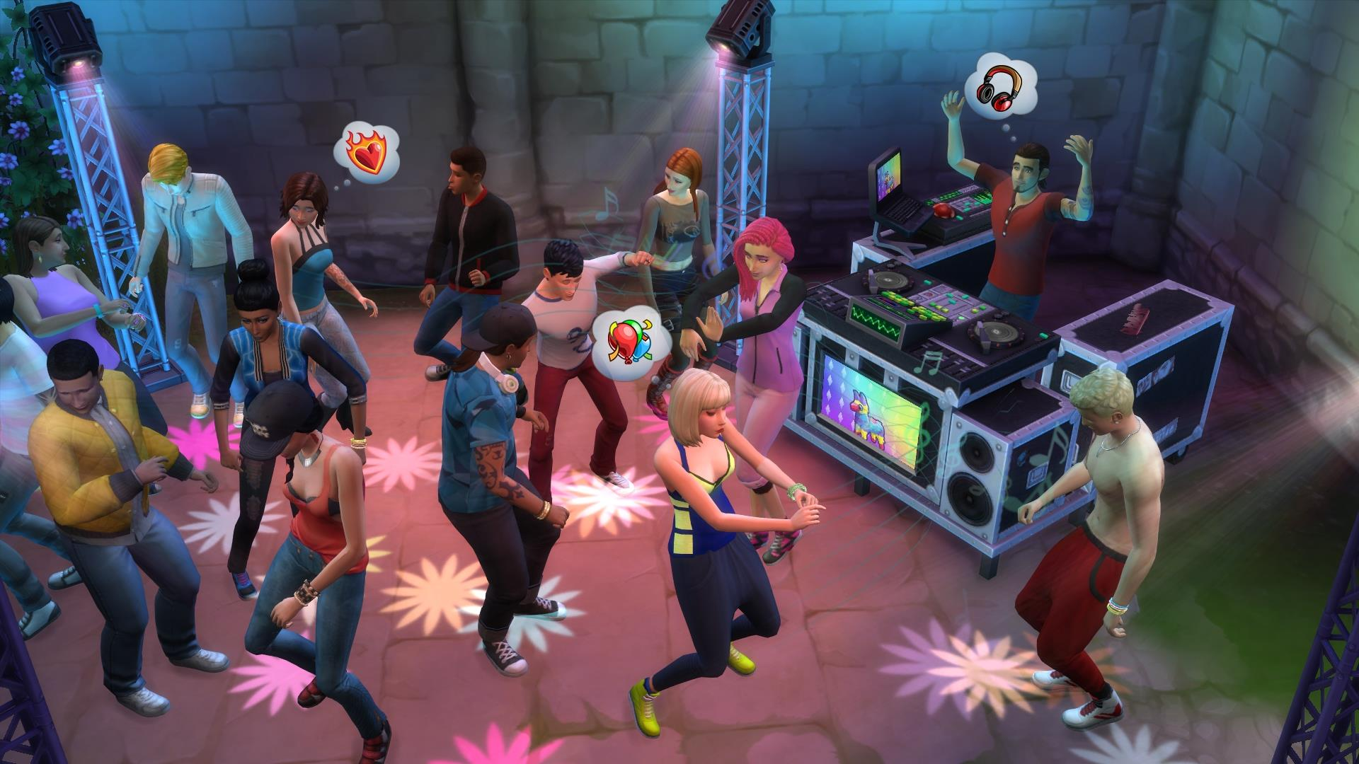 Gamescom 2015 The Sims 4 Get Together Expansion