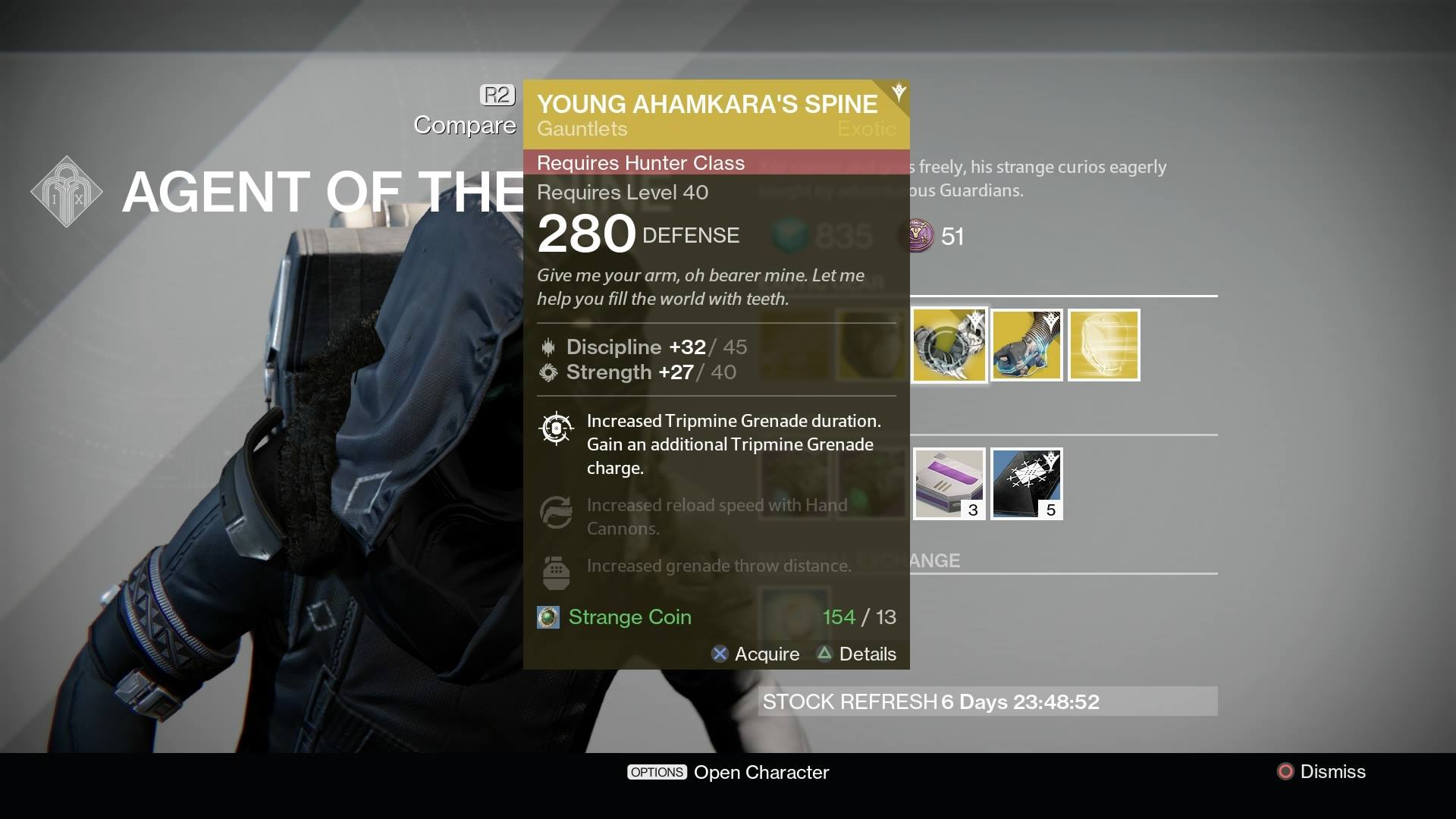 Destiny Xur Location And Inventory For September 18 19