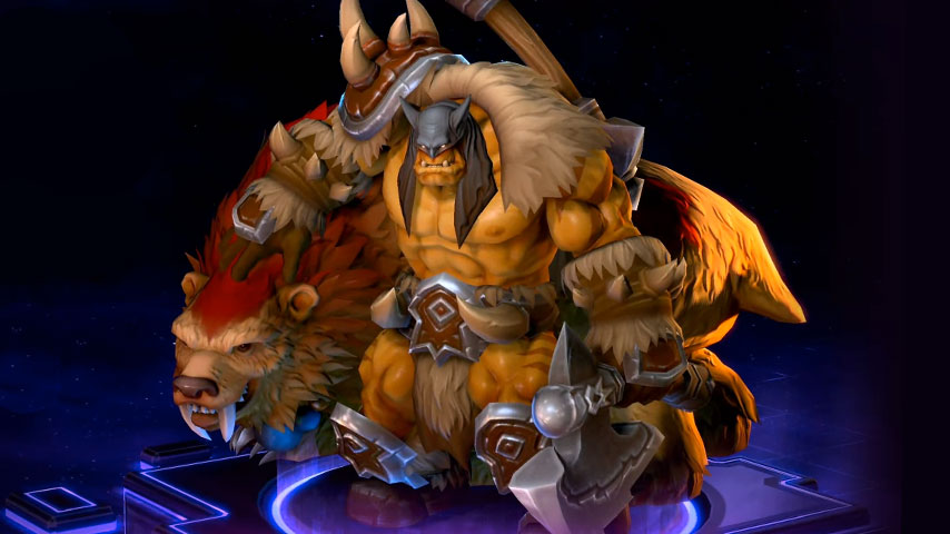 A Good Look At Rexxar Heroes Of The Storms Latest