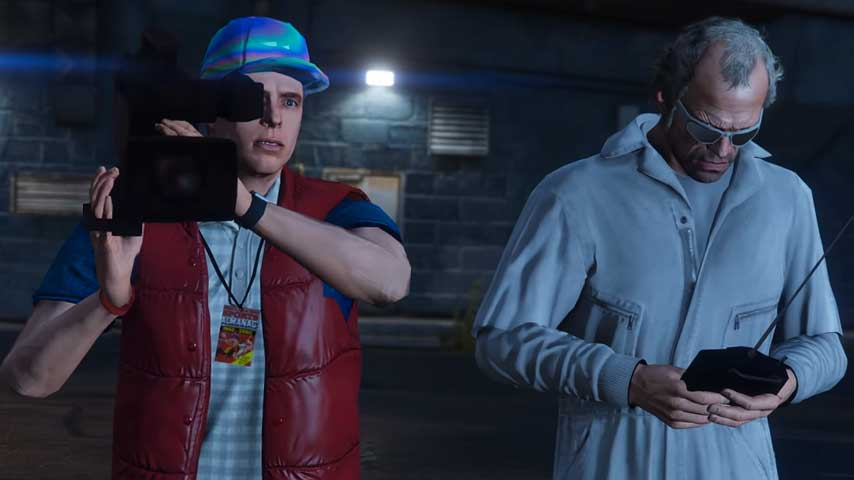 GTA 5 Back To The Future Tribute Shows Off Power Of Mods And Rockstar Editor VG247