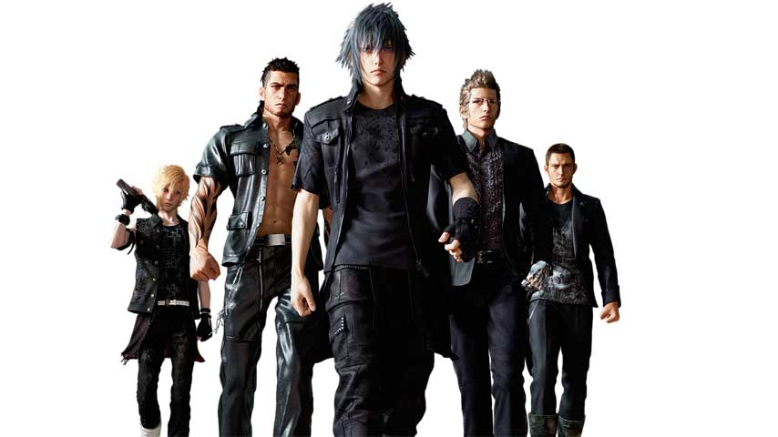 Final Fantasy 15 Characters Dress In Black Because Of