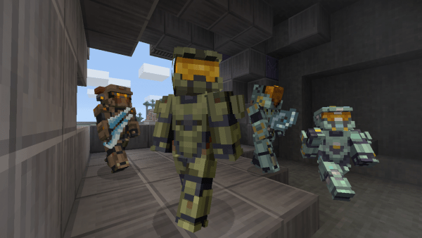 Halo 5s Master Chief And Locke Get Minecraft Skins VG247