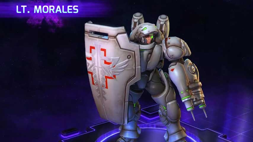 Check Out StarCrafts Lt Morales In Heroes Of The Storm VG247