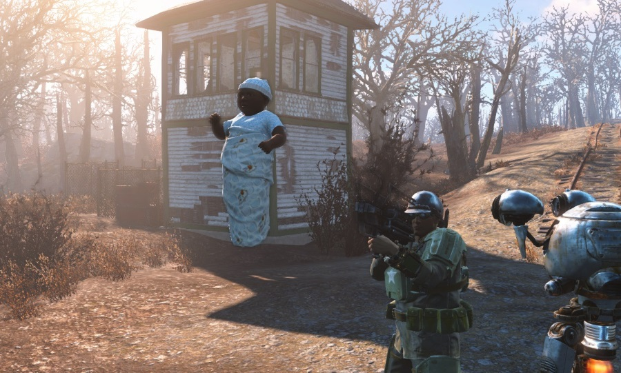 Fallout 4 Mod Replaces Mini Nukes With Your Baby VG247