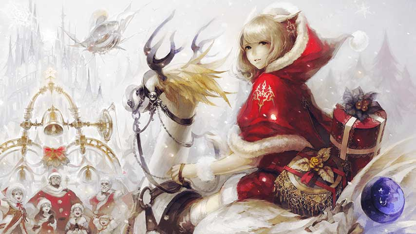 Final Fantasy 14 Welcomes Holiday Season With Starlight