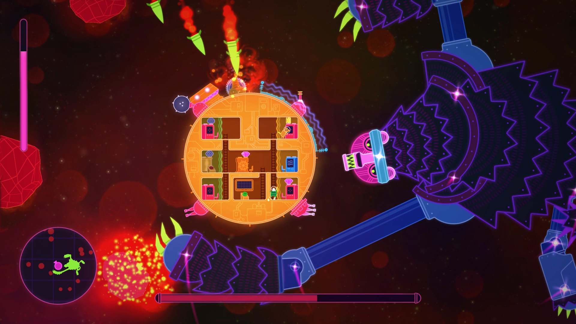 Lovers In A Dangerous Spacetime Arrives On PS4 Just In