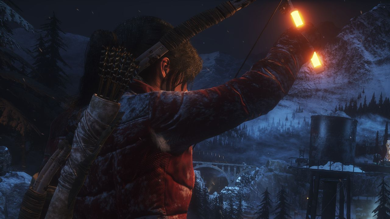 Second Rise Of The Tomb Raider Patch Addresses GPU Issues Glitches More VG247