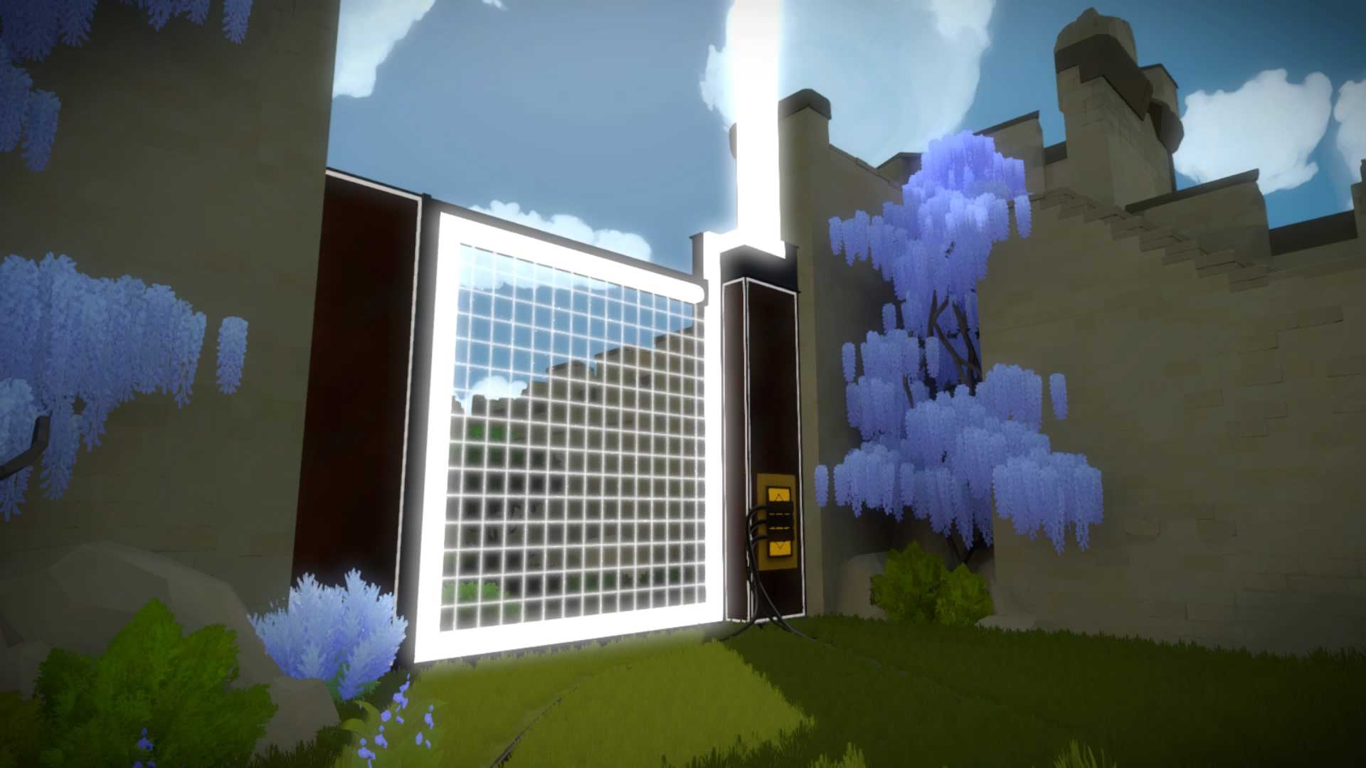 The Witness How To Solve The First Puzzle In The Garden VG247