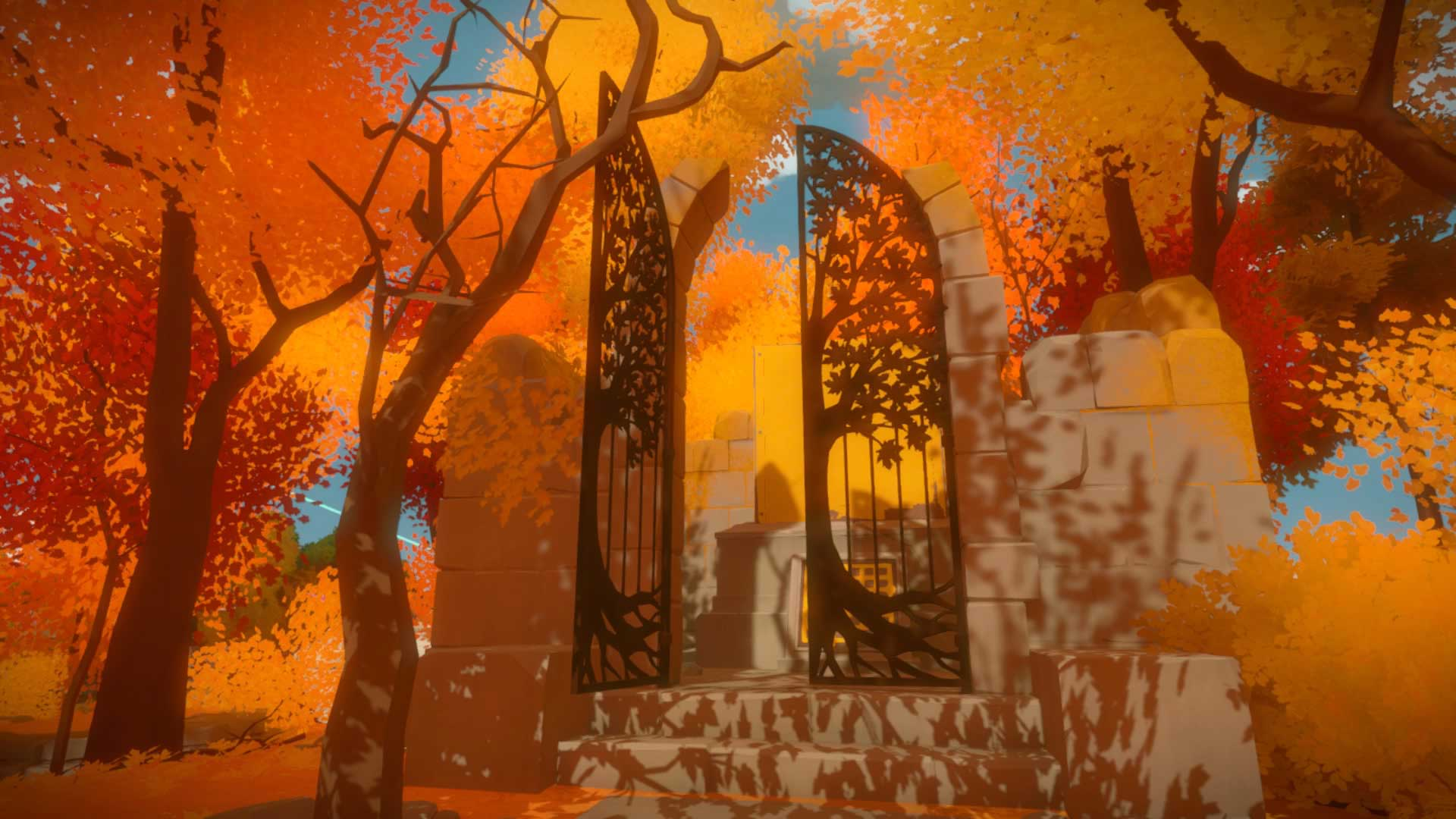 The Witness Shady Trees Laser And Puzzle Solutions VG247