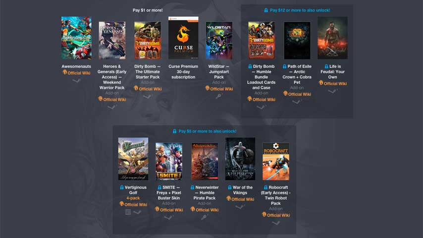 Latest Humble Bundle Mostly Stocked With Content Packs VG247