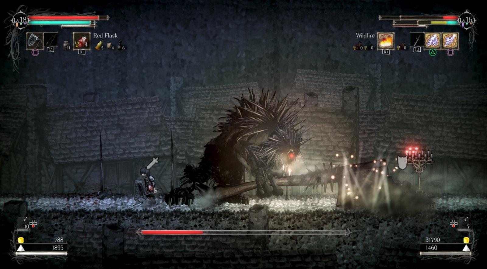 Heres How Co Op Works In Souls Like 2D Platformer Salt
