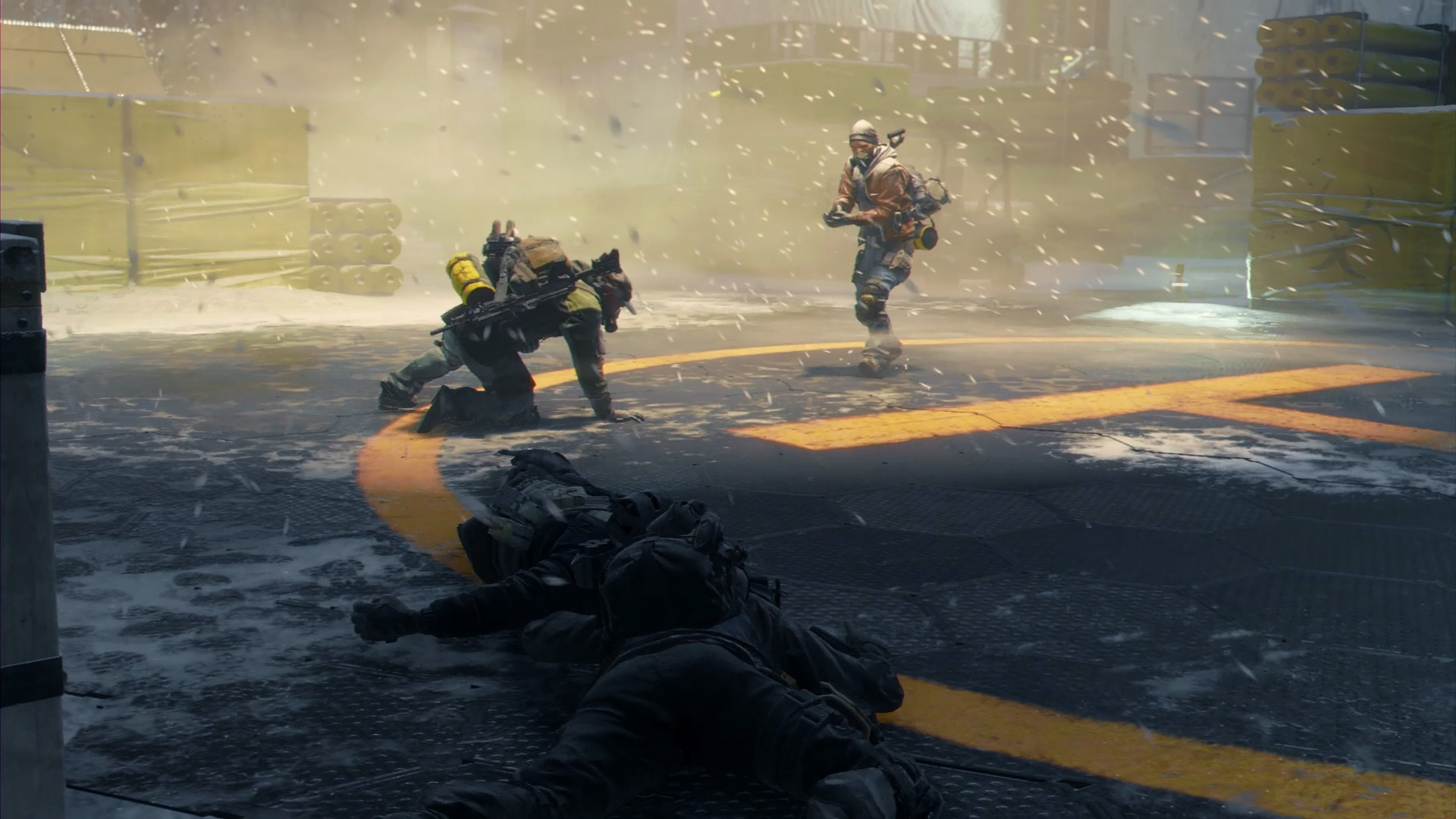 How To Stop A Manhunt In The Division Without Firing A