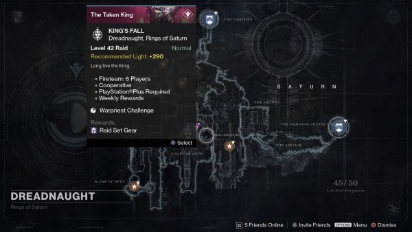 Destiny Weekly Reset For March 15 Court Of Oryx