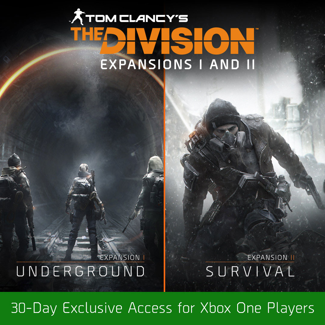 Confirmed First Two The Division DLCs Exclusive For 30