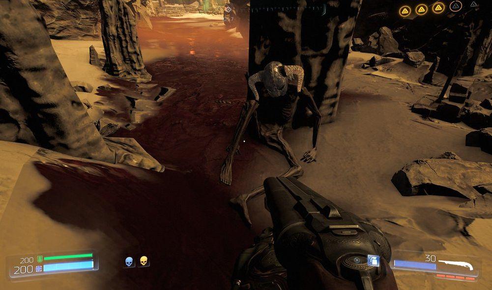 Doom Easter Eggs Pay Homage To Original Shooter Skyrim