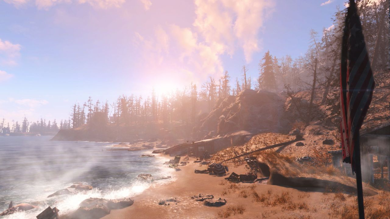 Fallout 4 Far Harbor DLC Cleansing The Land And The Way
