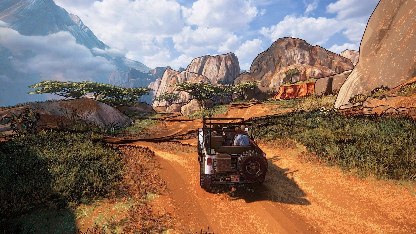 Uncharted 4 Looks Rather Great Using The Cel Shading Filter VG247
