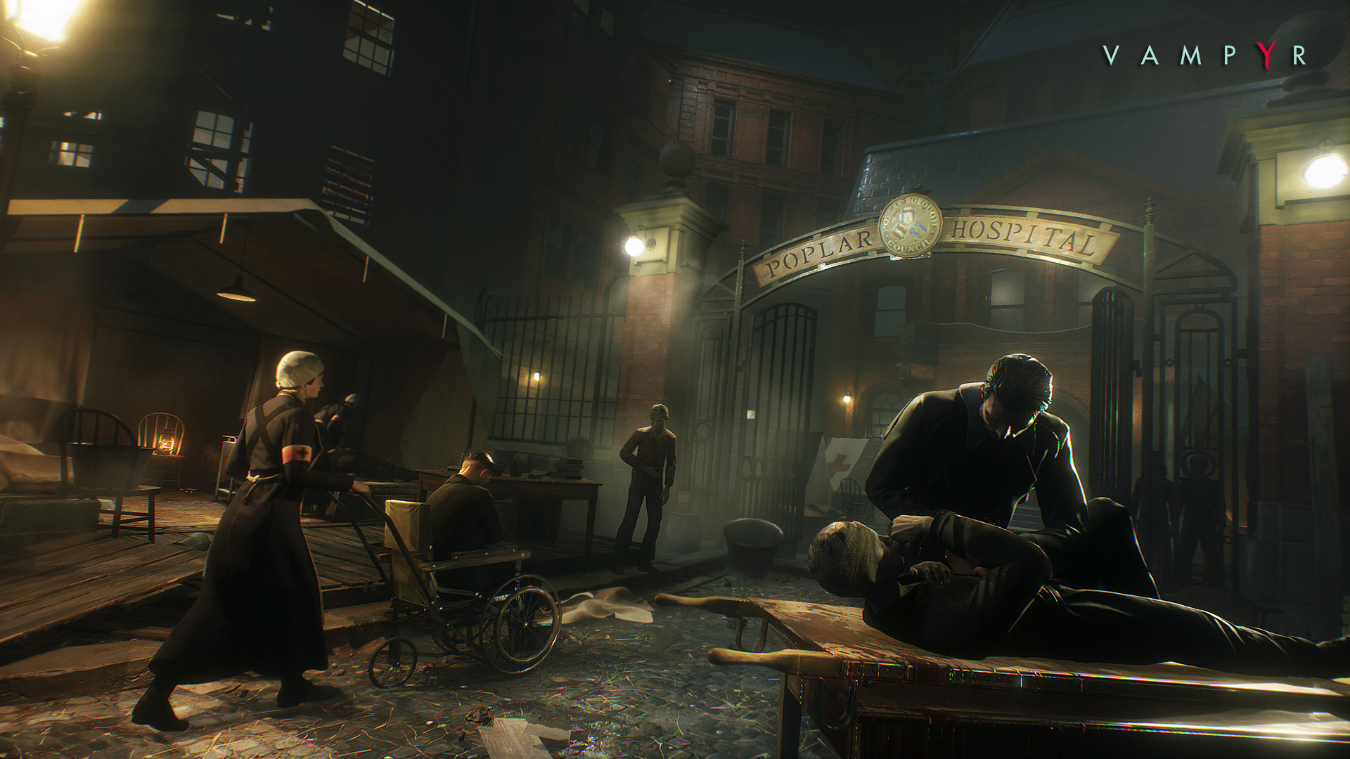 New Vampyr Screens Show Off Protagonists Duality VG247