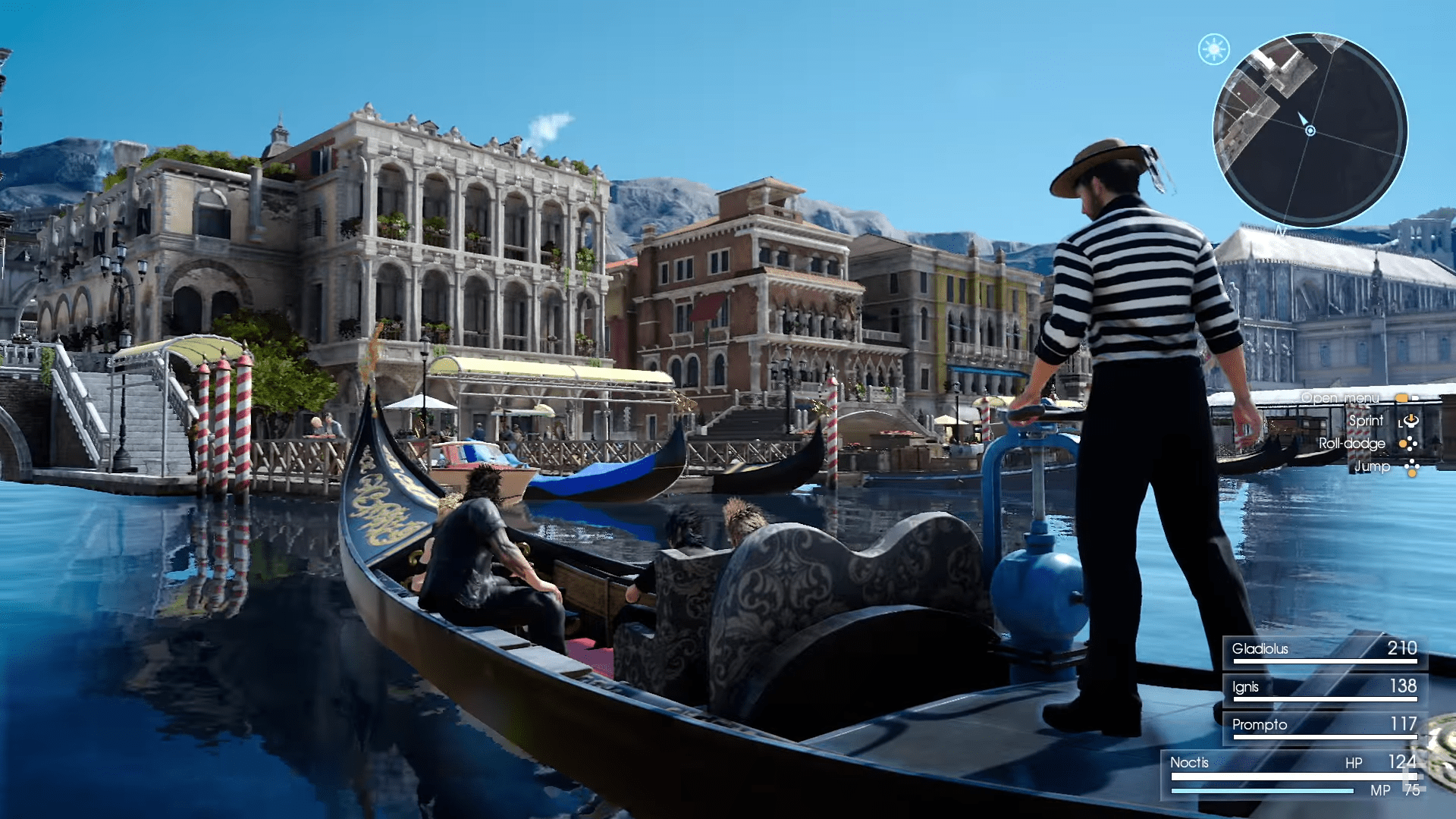 Final Fantasy 15 Shows Off A Venice Inspired City VG247